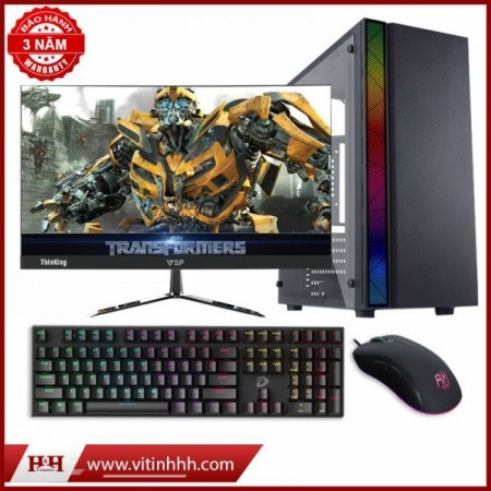 "Combo PC All New 100% I3 9100F + LCD 24"" BJX ( Mỹ ) Full Viền IPS - New 100%"